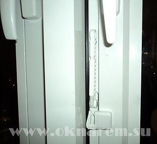 Ограничители проветривания для алюминиевых окон