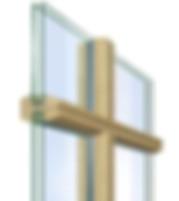 Установка Импоста в Деревянные Окна