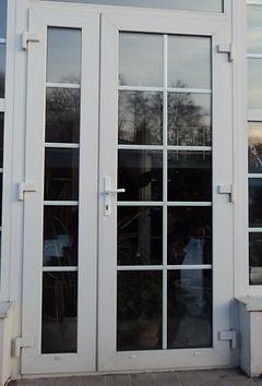 Исправление взлома пластиковых дверей