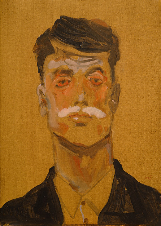 The Graduate, Michael Taylor, 2019, Acrylic on canvas, 35 x 25 cm