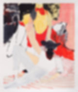 Strange Classic, Michael Taylor, 2018, Mixed media on paper, 45 x 38 cm