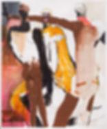 Subtle Hint, Michael Taylor, 2018, Mixed media on paper, 150 x 125 cm