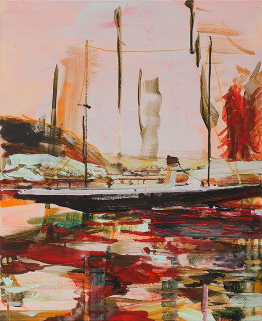 Joy Toy, Michael Taylor 2017, Acrylic on canvas, 55 x 45 cm
