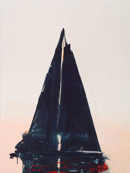 Vampire Regatta, Michael Taylor, 2018, Acrylic on canvas, 80 x 60 cm