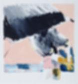 A rake'Beach bats #5, Michael Taylor 2014, Acrylic and pencil on paper, 40 x 37.5 cm progress - New best friend, Michael Taylor 2015, Acrylic, gouache and pencil on screen print, 70 x 50 cm