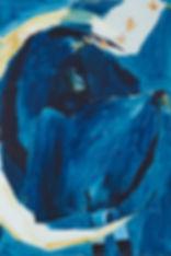 A rake's Mr. December (Judas), Michael Taylor 2014, Acrylic and pencil on board, 60 x 40 cm - New best friend, Michael Taylor 2015, Acrylic, gouache and pencil on screen print, 70 x 50 cm