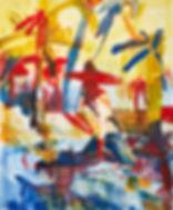 Yesterday I hittapotamus, Michael Taylor 2016, Gouache on paper, 150 x 125 cm