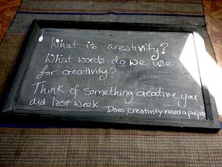 A Group Meditation on Creativity