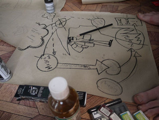 Putting art of drawing into action…