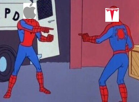 Is Tesla going the same way as Apple?