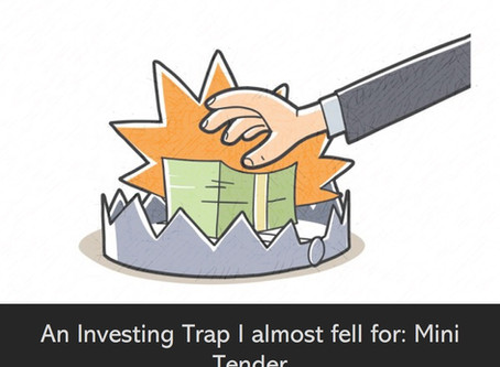 An investing trap I almost fell for: Mini Tenders