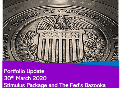 Stimulus Package and the Fed's Bazooka