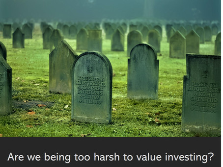 Are we being too harsh to value investing?
