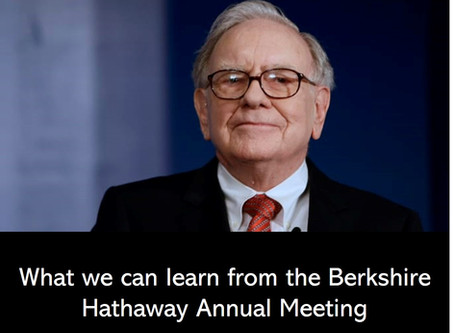 What we can learn from the Berkshire Hathaway Annual Meeting