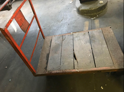 DD Vintage Cart with casters