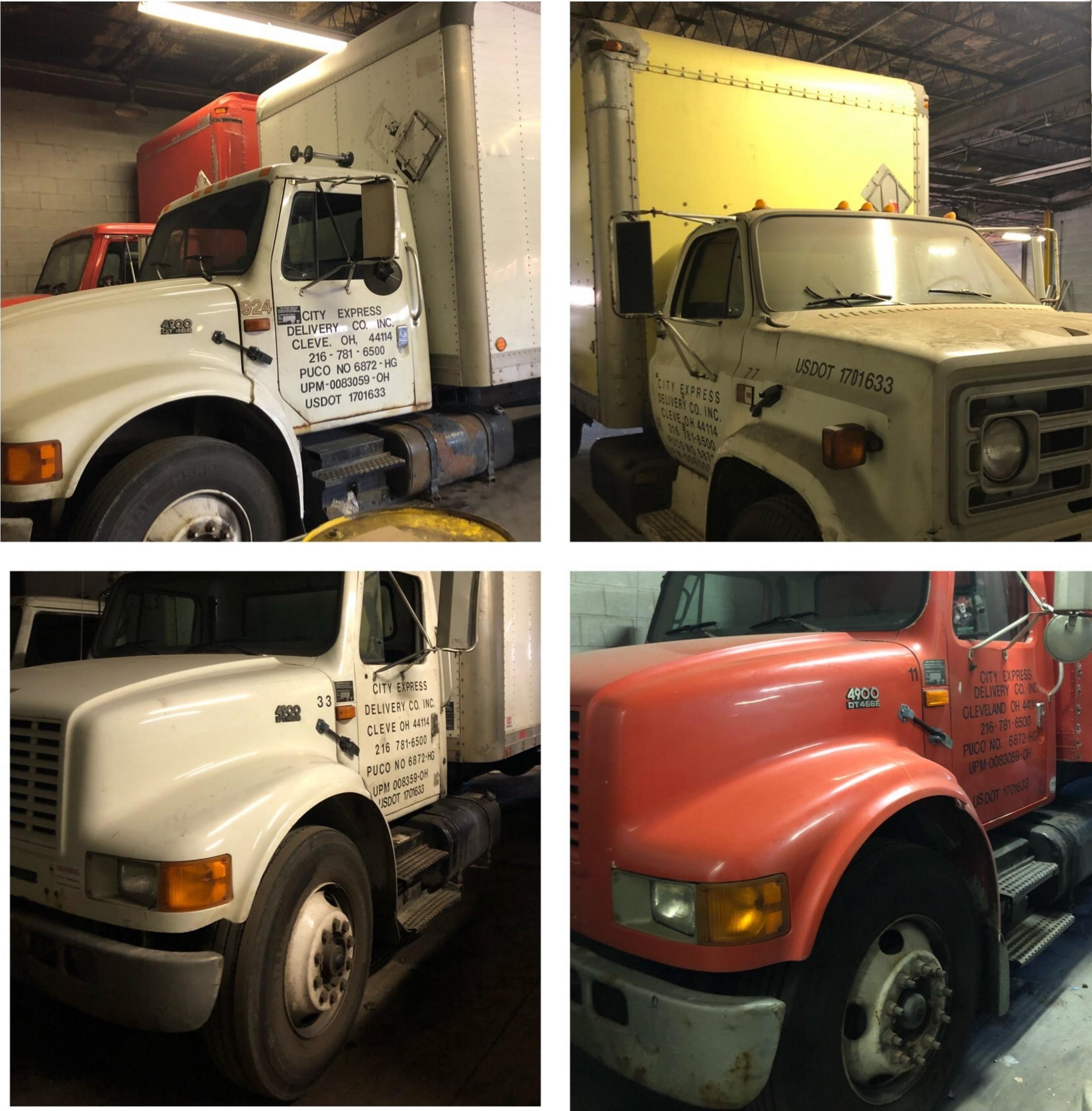 Truck Collage
