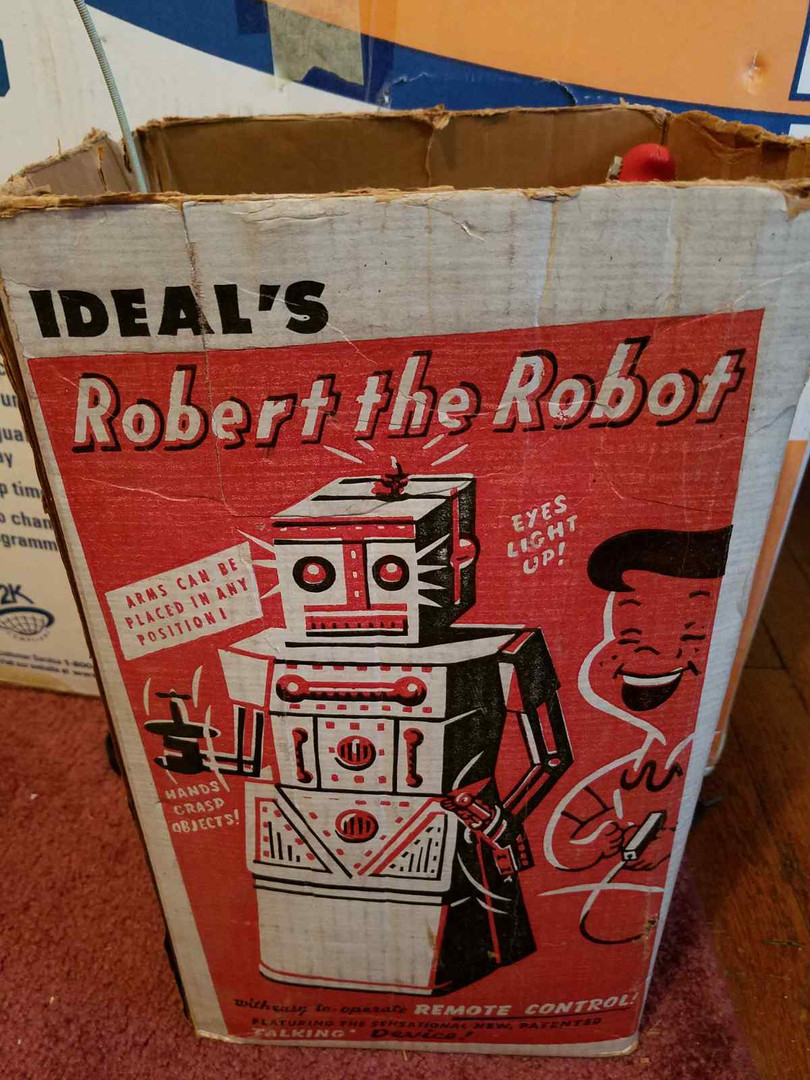 Ideal's Robert The Robot