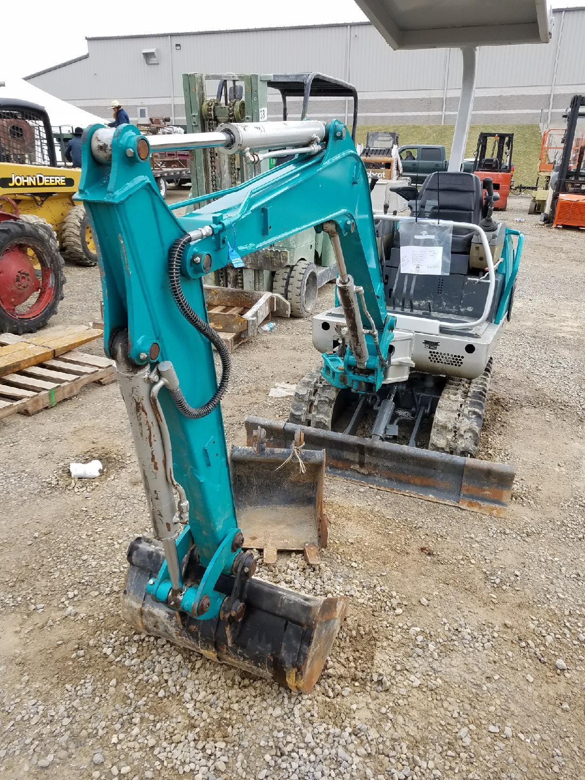 Kobelco 60 mini excavator