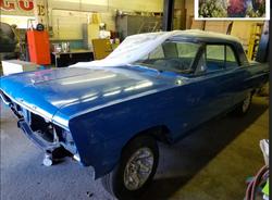 DS Blue Car
