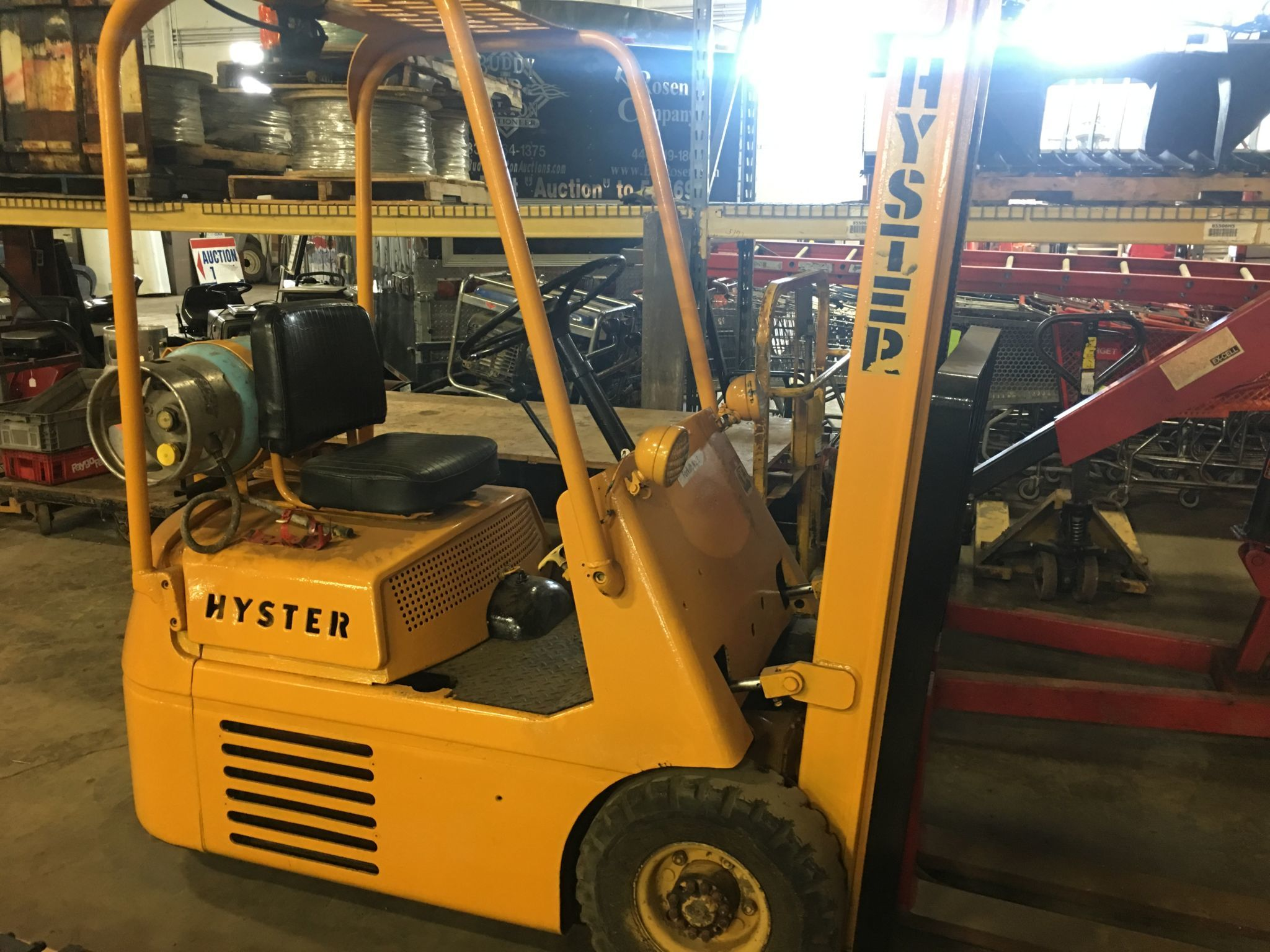 Hyster 3 Wheel Forklift