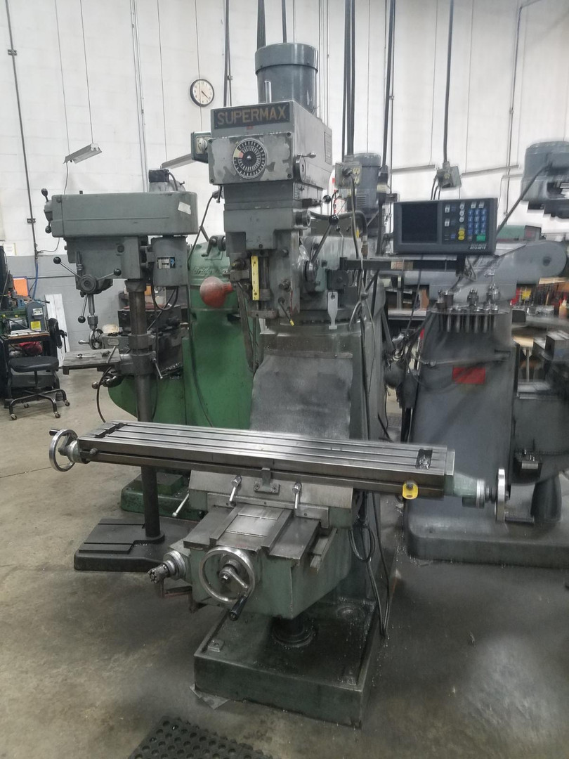 Live & Online Auction of CNC Machinery & Industrial Equipment