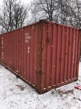 20 X 8 X 8.5 Conex Storage Container