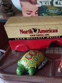 Vintage North American Van Line Toy Truck