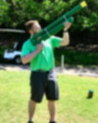 Golf Ball Air Cannon