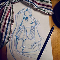 Drawing Disney with DPAC
