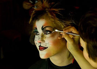 Theatrical Makeup Class 6th-12th grade