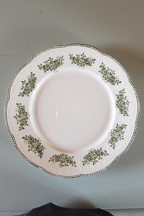 Lot de 8 assiettes plates Badonvillier