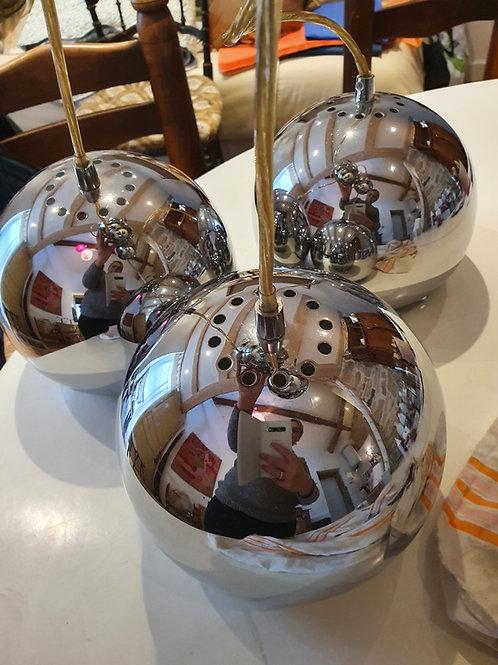 Suspension globe inox 70'