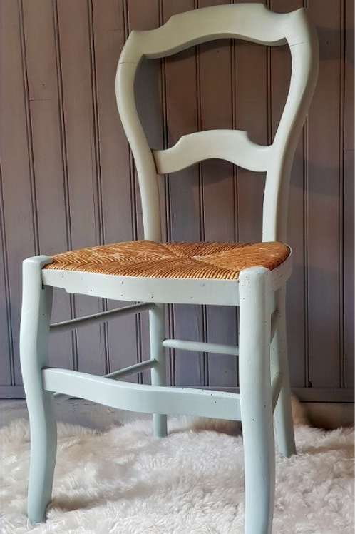 "Chaise ancienne ""mint"""