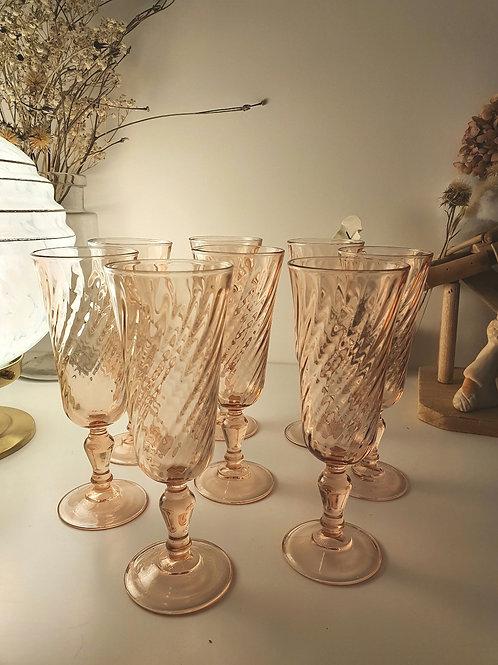Flûtes à Champagne Rosaline