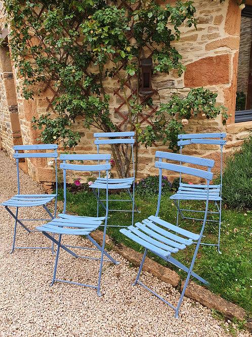Chaises de jardin anciennes