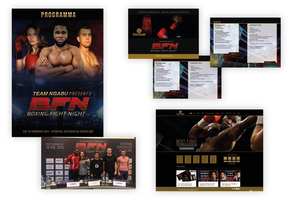 Marketing Team Ngabu BFN Boxing Fight Night