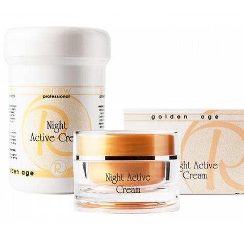 קרם פעיל ללילה Night Active Cream – גולדן אייג'