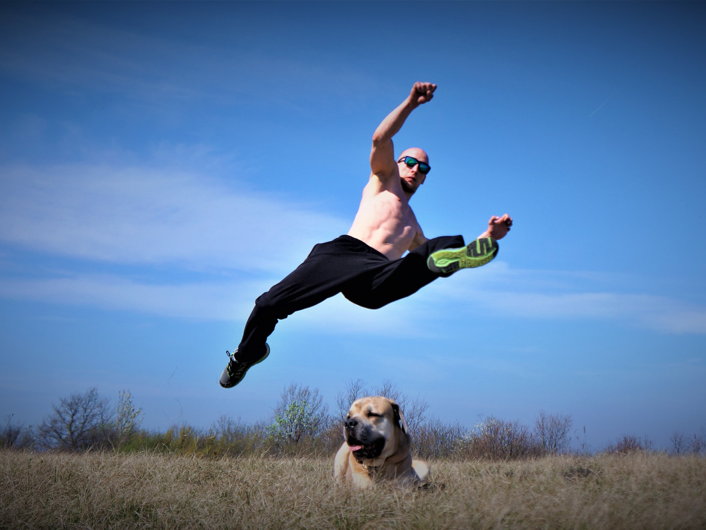 Spinning Jump Kick