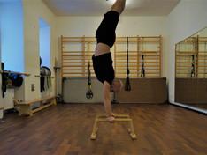 Paralletts Handstand