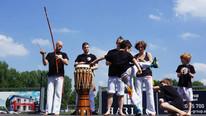 Kinder Capoeira Spiel