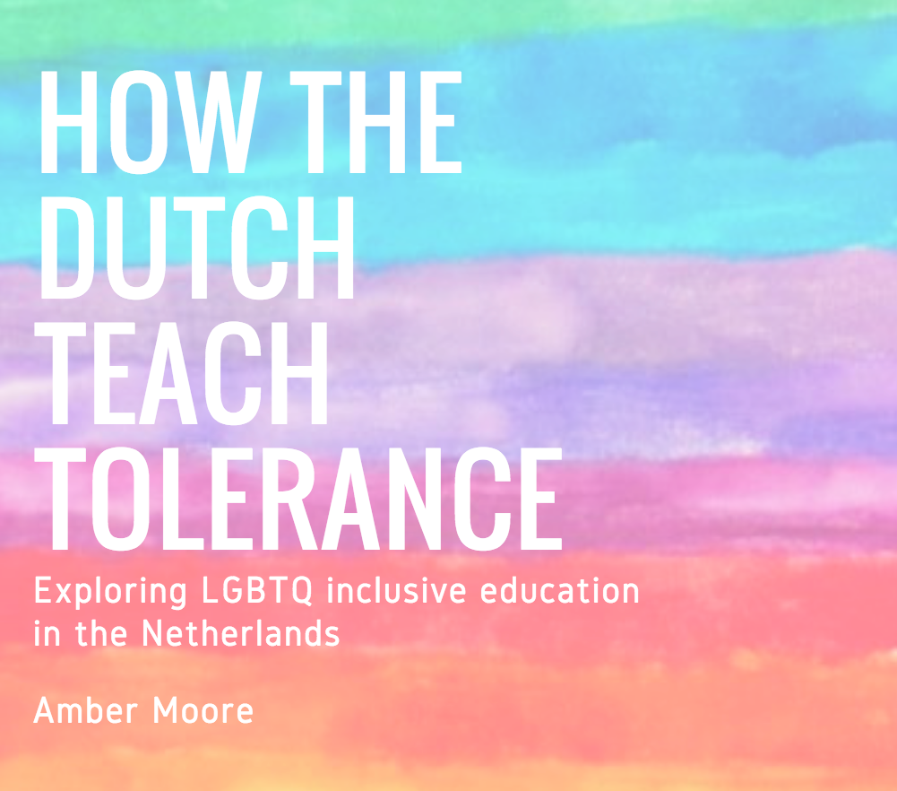 How the Dutch Teach Tolerance