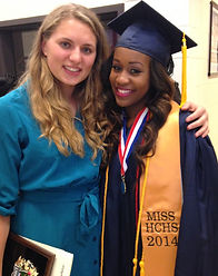 One of my students from Mississippi Symone Daniels who is now a high school biology teacher!