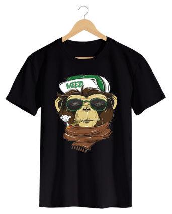 Camiseta Monkey Weed