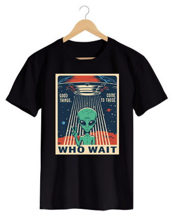 Camiseta Who Wait