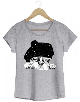 Camiseta Cute bulldog
