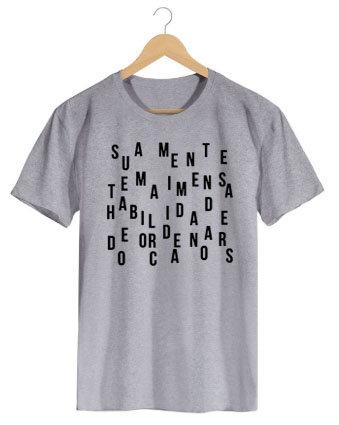 Camiseta Habilidade Humana