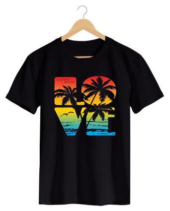 Camiseta Love Beach