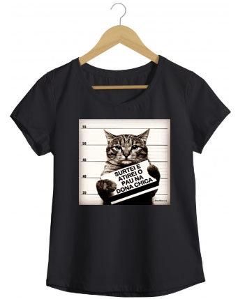 Camiseta Wanted Cat