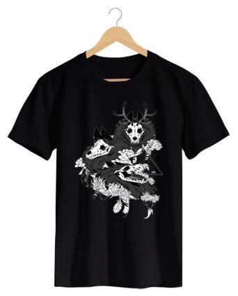 Camiseta Two Skull