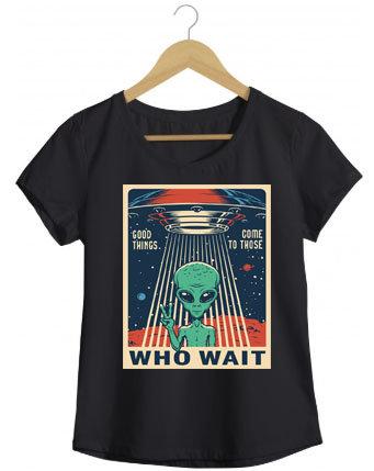 Camiseta Who Wait